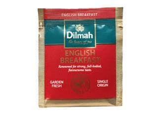 Dilmah English Breakfast Enveloped Tea Bags, 500/Ctn