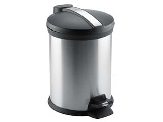JVD Soft Close Stainless Steel Pedal Bin, 5.0L